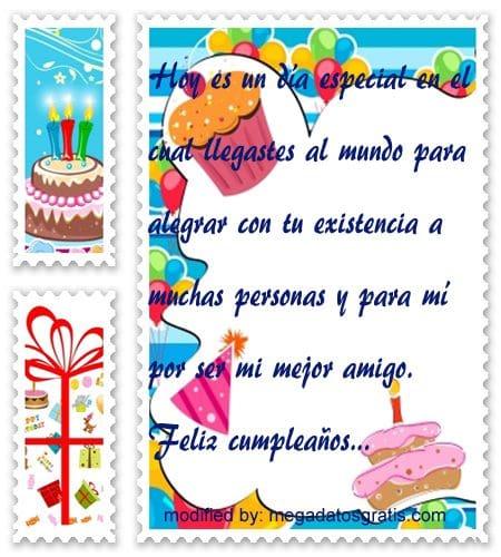 Frases de cumpleaños para mi amigo,Bellos mensajes de cumpleaños para tu amigo