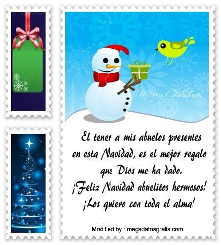 Ejemplo 1 De Carta Navidad Para Mis Abuelos