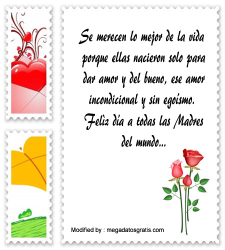 Bonitas Frases Para Saludar Por El Dia De La Madre Mensajes Por El
