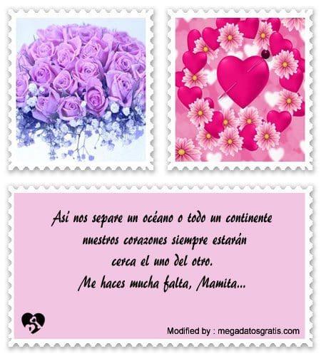Textos Para Decir Te Extrano Mama Mensajes De Amor