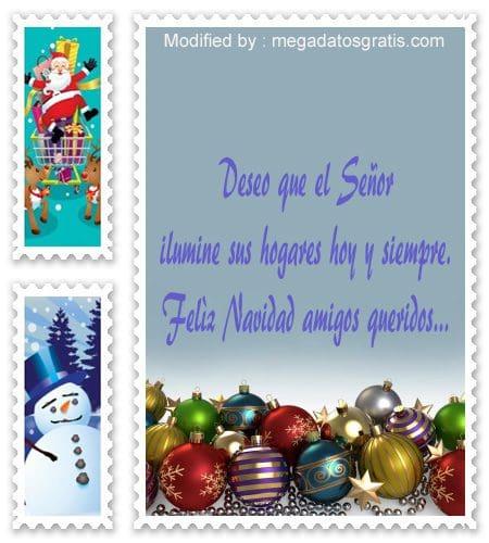 Tarjetas con frases de Navidad para compartir Megadatosgratiscom