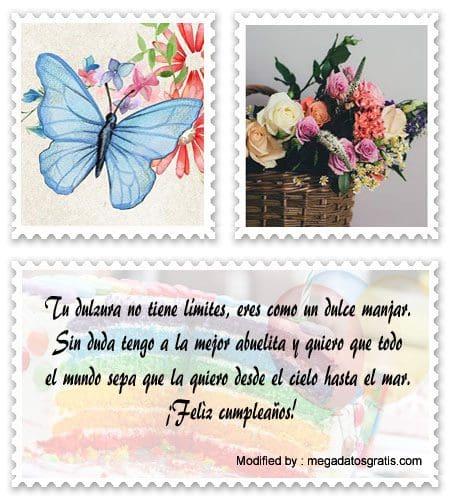 Saludos De Feliz Cumpleaños Abuelita Ejemplos De Carta De Cumpleaños Para Mi Abuela Megadatosgratis Com