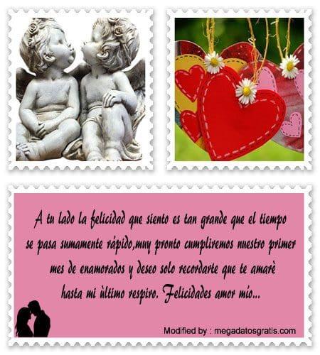 Bonitas Frases Romanticas Por El Primer Mes De Relacion Saludos De
