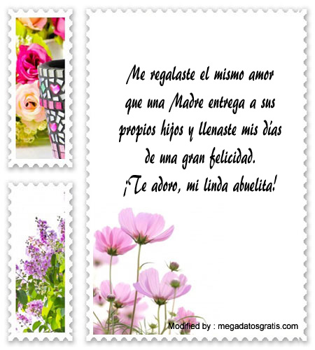 Bellos Mensajes Para Mi Abuela Por El Dia De La Madre Tarjetas Por