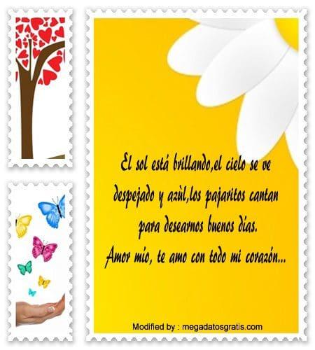 Mensajes De Buenos Dias De Amor Romanticos Mensajes De Buenos Dias