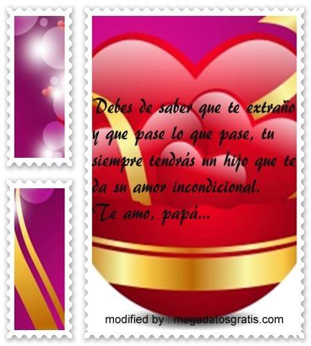 Frases De Amor Para Un Padre Que Vive Lejos Con Imagenes