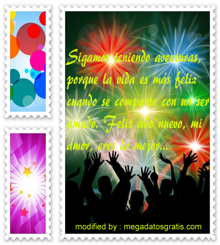 Mensajes de ano nuevo1,enviar bonitos pensamientos de año nuevo para tus amigos