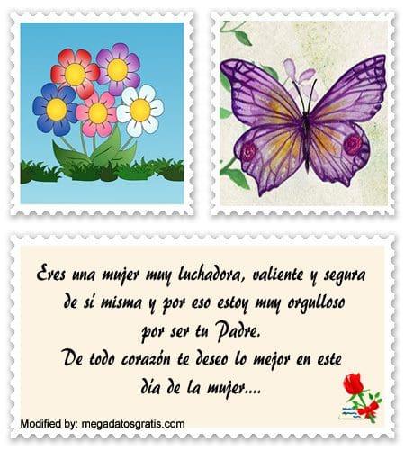 Mensajes Por El Día De La Mujer Para Tu Hija Frases El Día