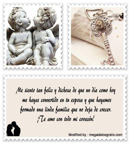 Bellos Mensajes De Aniversario Para Mi Esposo Frases De Amor