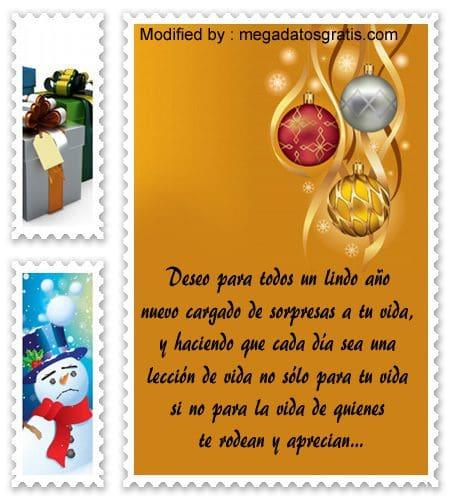 frases con imàgenes para enviar en navidad y año nuevo, palabras para enviar en navidad y año nuevo