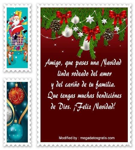 Tarjetas Con Mensajes De Navidad Para Amigos