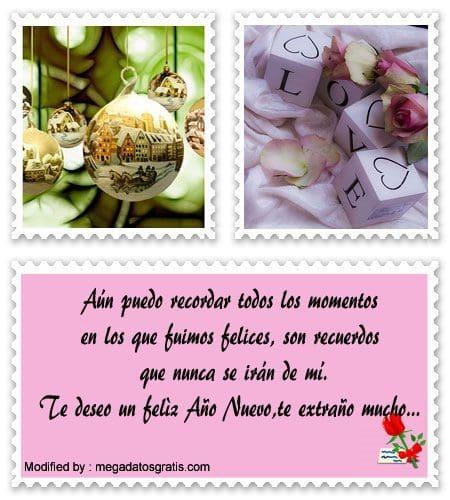 Lindos Mensajes De Año Nuevo Para Mi Amor Que Está Lejos