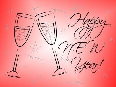 originales palabras de Año Nuevo para un amigo, enviar nuevos mensajes de Año Nuevo para un amigo