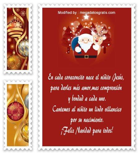 Lindos Mensajes De Navidad Para Ninos Saludos Navidenos