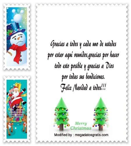 Mensajes De Agradecimiento En La Cena Navideña Feliz Navidad