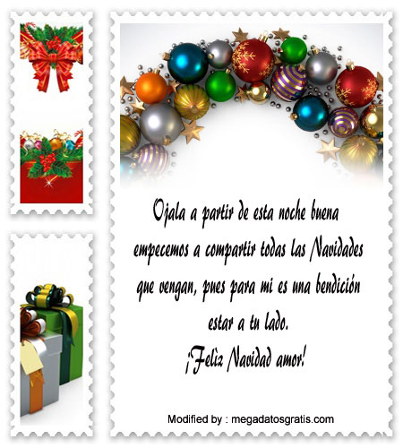 Lindos Mensajes De Navidad Para Tu Pareja Feliz Navidad Amor