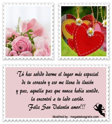 Lindos Mensajes De San Valentin Para Mi Amor Saludos Por San