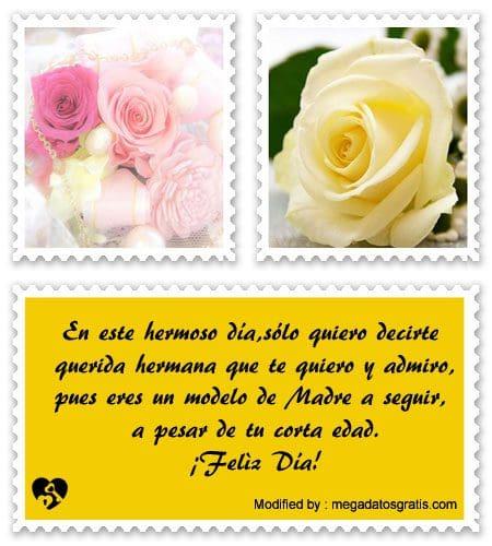 Lindos Mensajes Por El Día De La Madre Para Mi Hermana