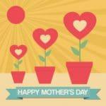 descargar gratis textos por el Día de la Madre, ejemplos de mensajes por el Día de la Madre