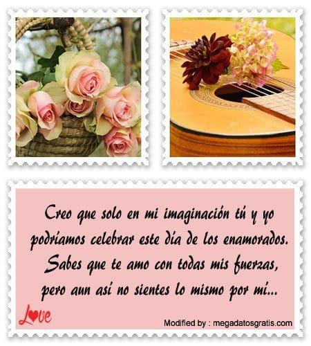 Lindos Mensajes De San Valentin Para Un Amor Imposible Bonitas
